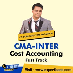 CMA INTER COS ACCOUNTING REGULAR BY CA PURUSHOTTAM AGGRAWAL