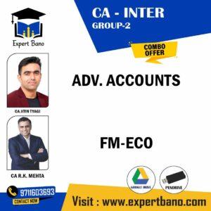 ADV ACCOUNTS FM-ECO CA JITIN TYAGI CA RK MEHTA