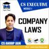 CS EXECUTIVE MODULE 1 COMPANY LAWS BY CS ANOOP JAIN