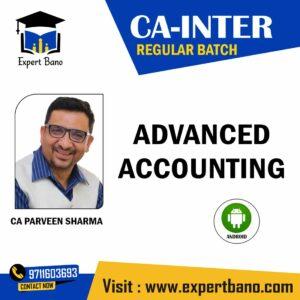 CA INTER ADVANCED ACCOUNTING