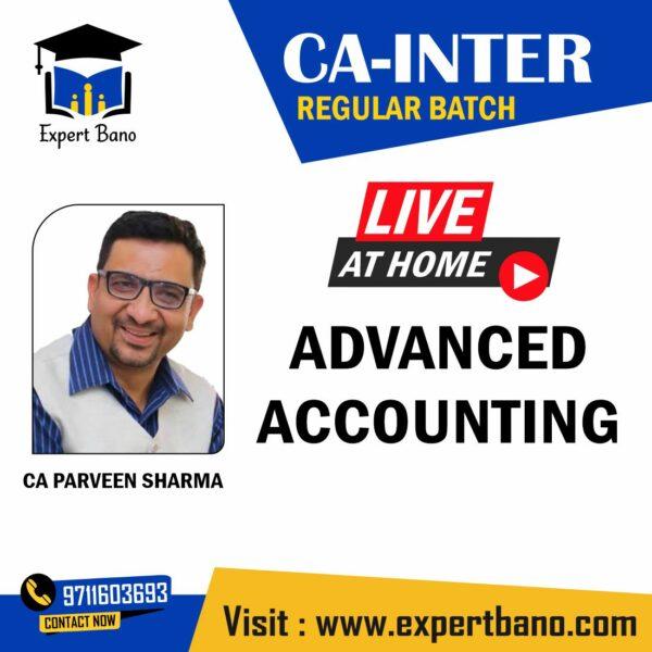 ADVANCE ACCOUNTS CA INTER