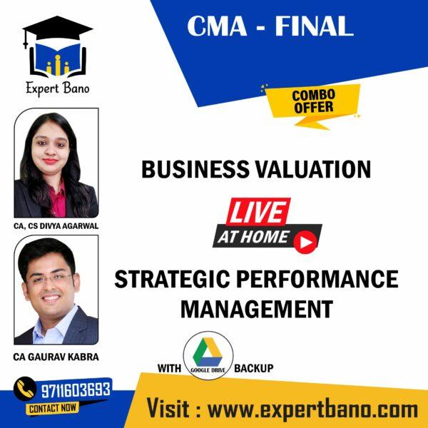 CMA FINAL BUSINESS+ SPM BY CA DIVYA GARWAL & CA GAURAV KABRA