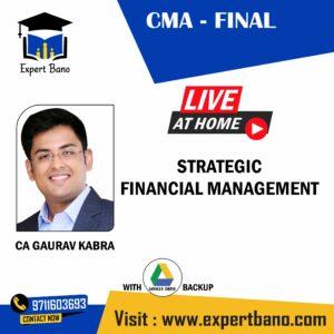 CMA FINAL FSM BY CA GAURAV KABRA