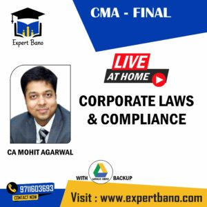 CMA FINAL LAWS BY CA MOHIT AGARWAL