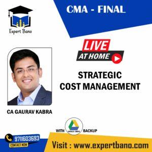 CMA FINAL SCM BY CA GAURAV KABRA