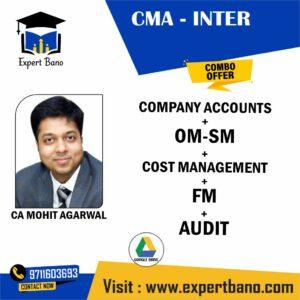 CMA INTER AUDIT+COMPANY ACC+OM-SM+CMA +FM BY CA MOHIT AGARWAL