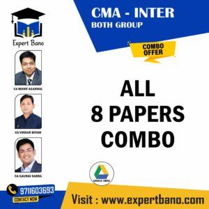CMA INTER BOTH GROUP BY CA MOHIT AGARWAL, CA VIKRAM BIYANI AND CA GAURAV KABRA