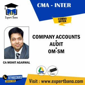 CMA INTER COMPANY ACC + AUDIT+OM-SM BY CA MOHIT AGARWAL