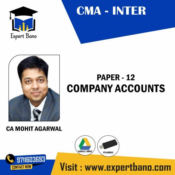 CMA INTER COMPANY ACCOUNTS BY CA MOHIT AGARWAL