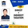CMA INTER DIRECT TAX+ INDIRECT TAX COMBO BY CA VIKRAM, BIYANI