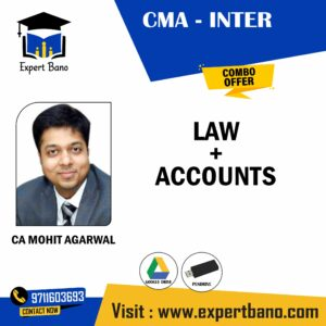 CMA INTER LAW+ ACCOUNTS BY CA MOHIT AGARWAL