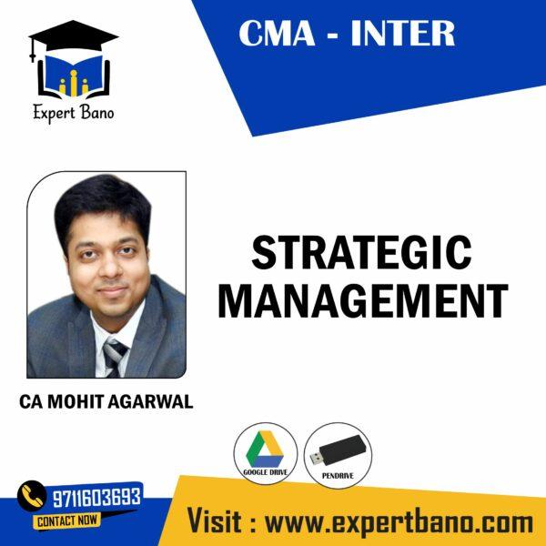 CMA INTER STRATEGIC MANAGEMENT