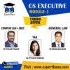 CS EXECUTIVE MODULE 1 COMPANY LAW / SETTING UP OF BUSINESS ENTITIES & CLOSURE BY CS TUSHAR PAHADE | GENERAL LAW BY CS PAVAN GAHUKAR | TAX BY CA PIYUSHA THAKKAR
