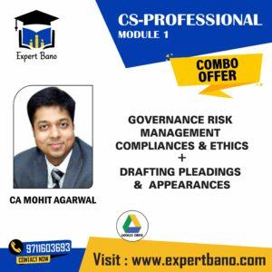 CS PROFESSIONAL GOVERNANACE , DRAFTING BY CA MOHIT AGARWAL;