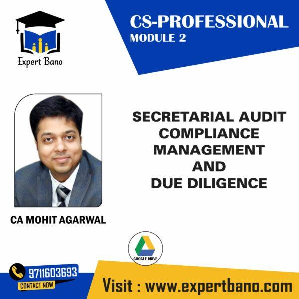 CS PROFESSIONAL SECRETRIAL BY CA MOHITA GARWAL