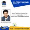 CS PROFESSIOPNAL RESOLUTION BY CA MOHIT AGARWAL