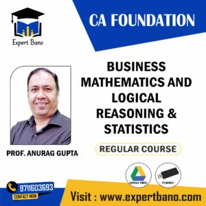 ca foundation business maths pendrive classes