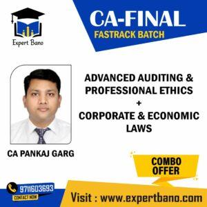 CA Final Audit and Law BY CA PANKAJ GARG SIR