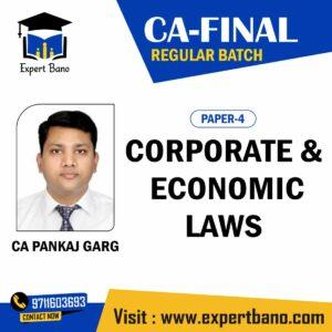CA FINAL LAW – REGULAR BATCH BY CA PANKAJ GARG
