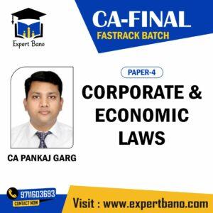 CA FINAL LAW FASTRACK BATCH BY CA PANKAJ GARG SIR
