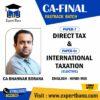 CA FINAL DIRECT TAX & INTERNATIONAL TAXATION BY CA BHANWAR BORANA