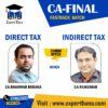 CA FINAL DIRECT TAX & INDIRECT TAX BY CA BHANWAR BORANA & CA RAJKUMAR