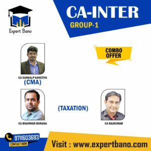 (GROUP 1)- COSTING & TAXATION (COMBO) BY BHANWAR BORANA CLASSES
