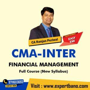 13 CMA Inter FM By CA Ranjan Periwal