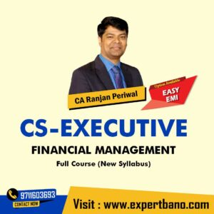 14 CS Executive FM By CA Ranjan Periwal