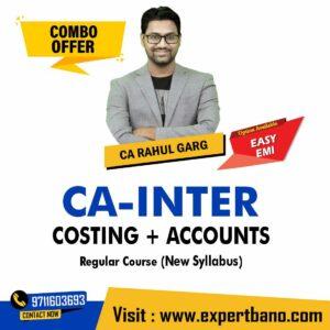 19 CA INTER COSTING + ACCOUNTS REGULAR CA RAHUL GARG