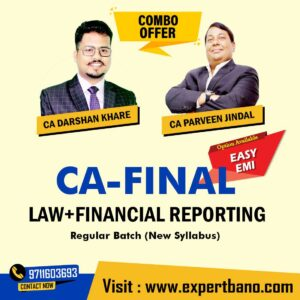7 CA FINAL LAW+FINANCIAL REPORTING COMBO BY CA DARSHAN KHARE & CA PARVEEN JINDAL