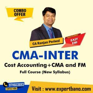 9 CMA Inter Cost Accounting AND CMA and FM By CA Ranjan Periwal