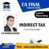 CA FINAL IDT NEW RECORDING BY CA MANOJ BATRA