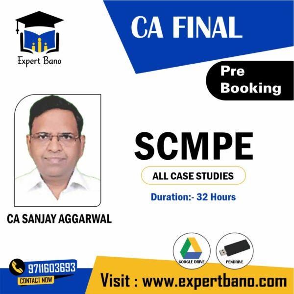 CA FINAL SCMPE ALL CASE STUDIES