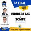 CA FINAL SCMPE + IDT COMBO BY CA MANOJ BATRA & CA SANJAY AGGRAWAL