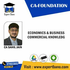 CA FOUNDATION EDUKUL CLASSES ECONOMICS & BUSINESS BY CA VISHAL GUPTA