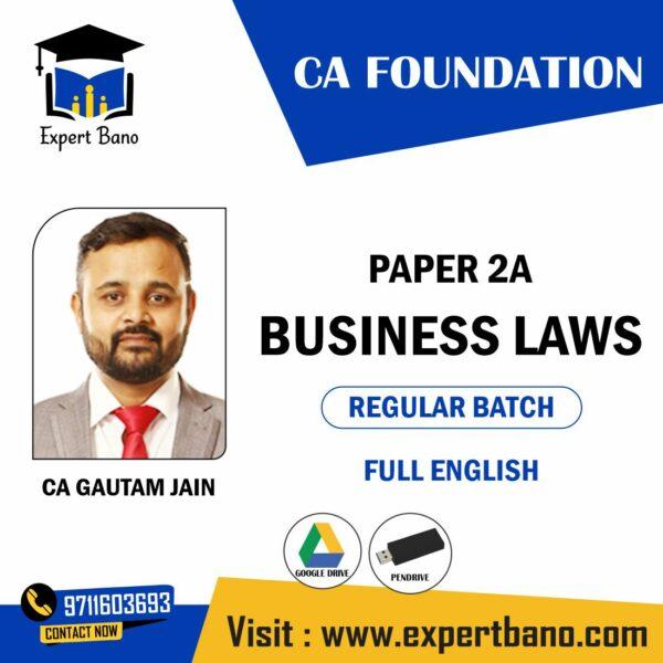 CA GUATAM JAIN CA-FOUNDATION