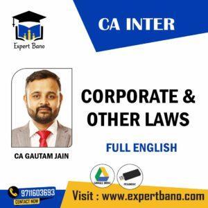 CA GUATAM JAIN CA INTER