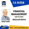 CA INTER FINANCIAL MANAGEMENT BY SANJAY SARAF