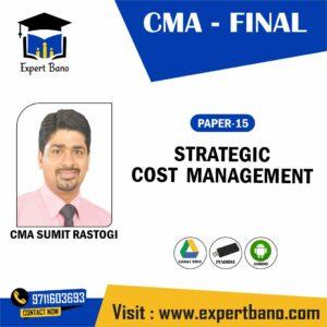 CMA FINAL SCM-DM BY CMA SUMIT RASTOGI