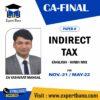 INDIRECT TAX FULL ENGLISH HINDI CA YASHVANT MANGAL NOV21 MAY22