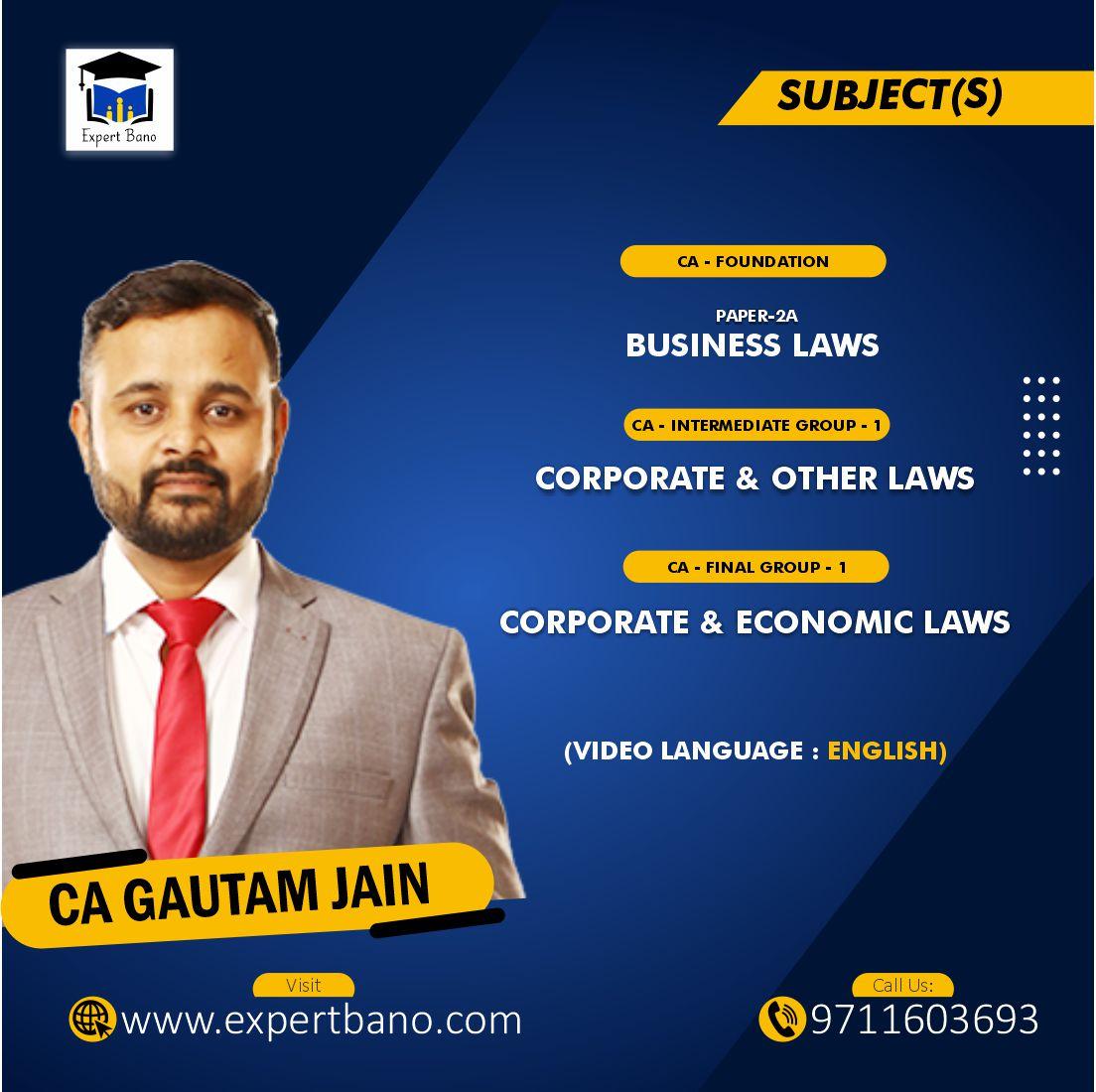 CA GAUTAM JAIN