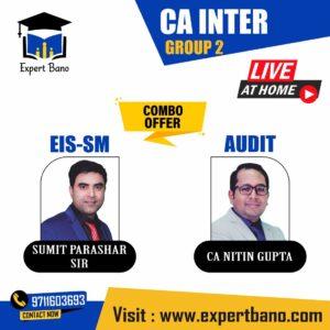 CA INTER EIS-SM + AUDIT LIVE BATCH COMBO